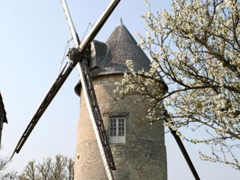 Le moulin de Raimbault à Beauvoir-sur-Niort