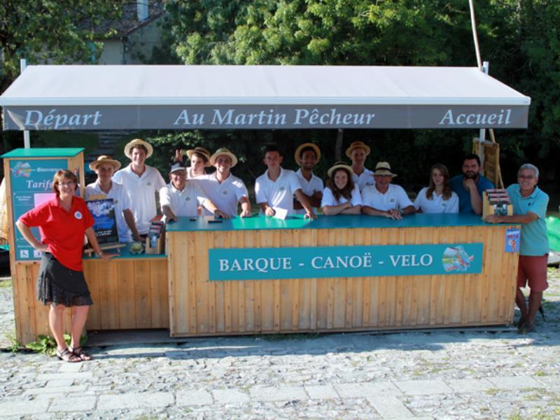 L'équipe du Martin Pêcheur !