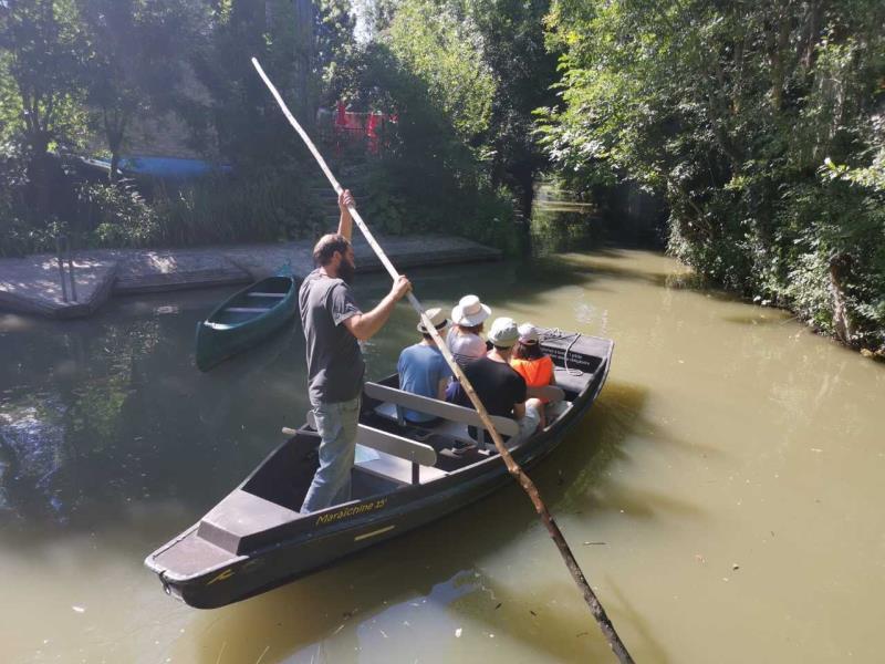 Une promenade en barque