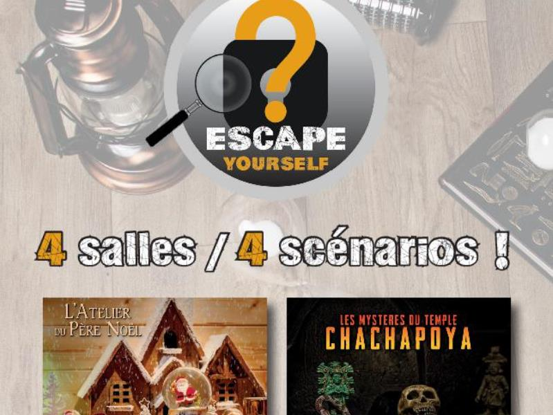 Escape Yourself : n°1 de l'escape en France !